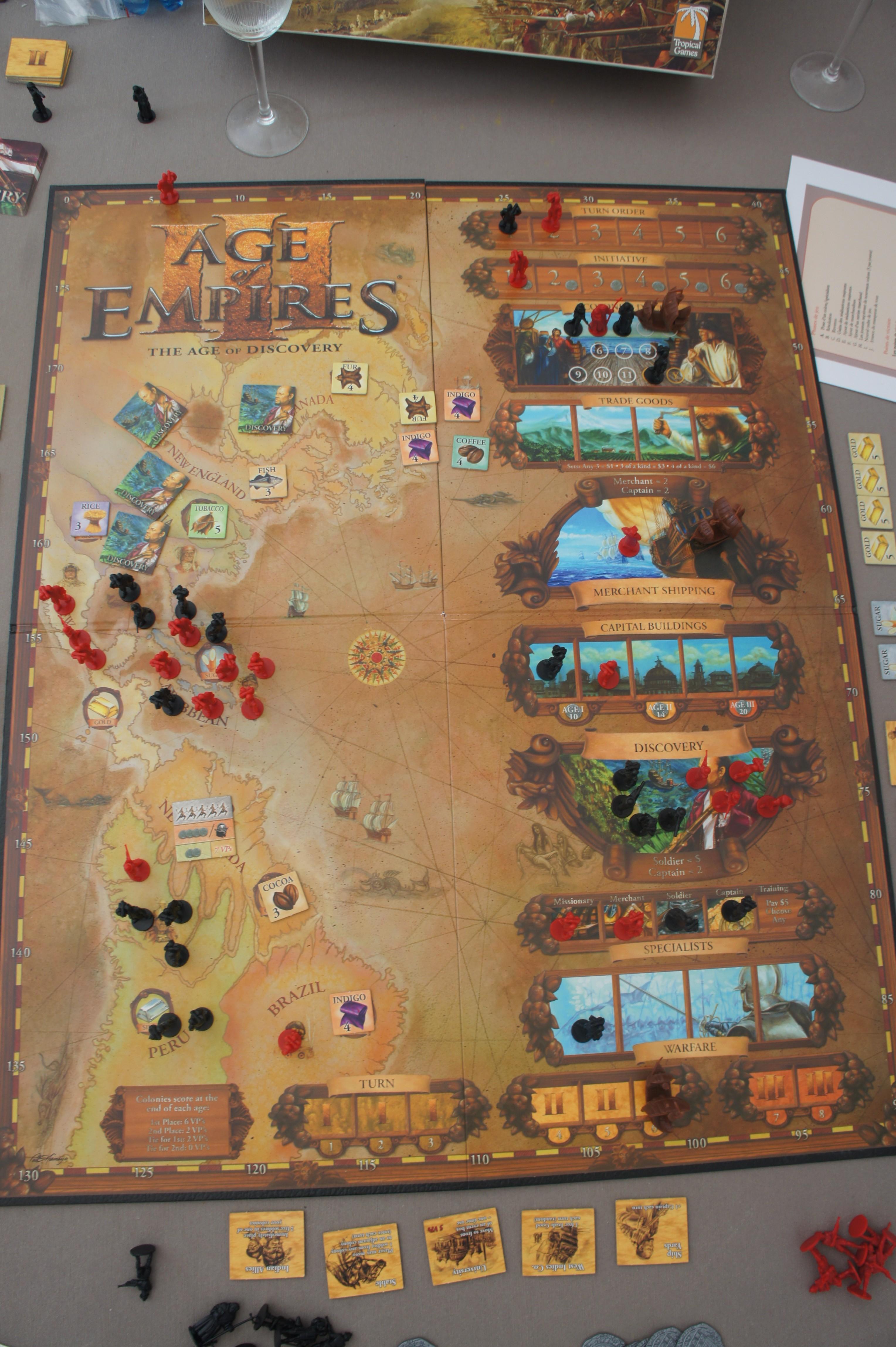 Le tout premier Age of Empires, le célèbre jeu de stratégie en temps réel où vous devez conduire votre petite tribu à une civilisation puissante, passant de l'âge de Pierre à l'âge de Fer.
