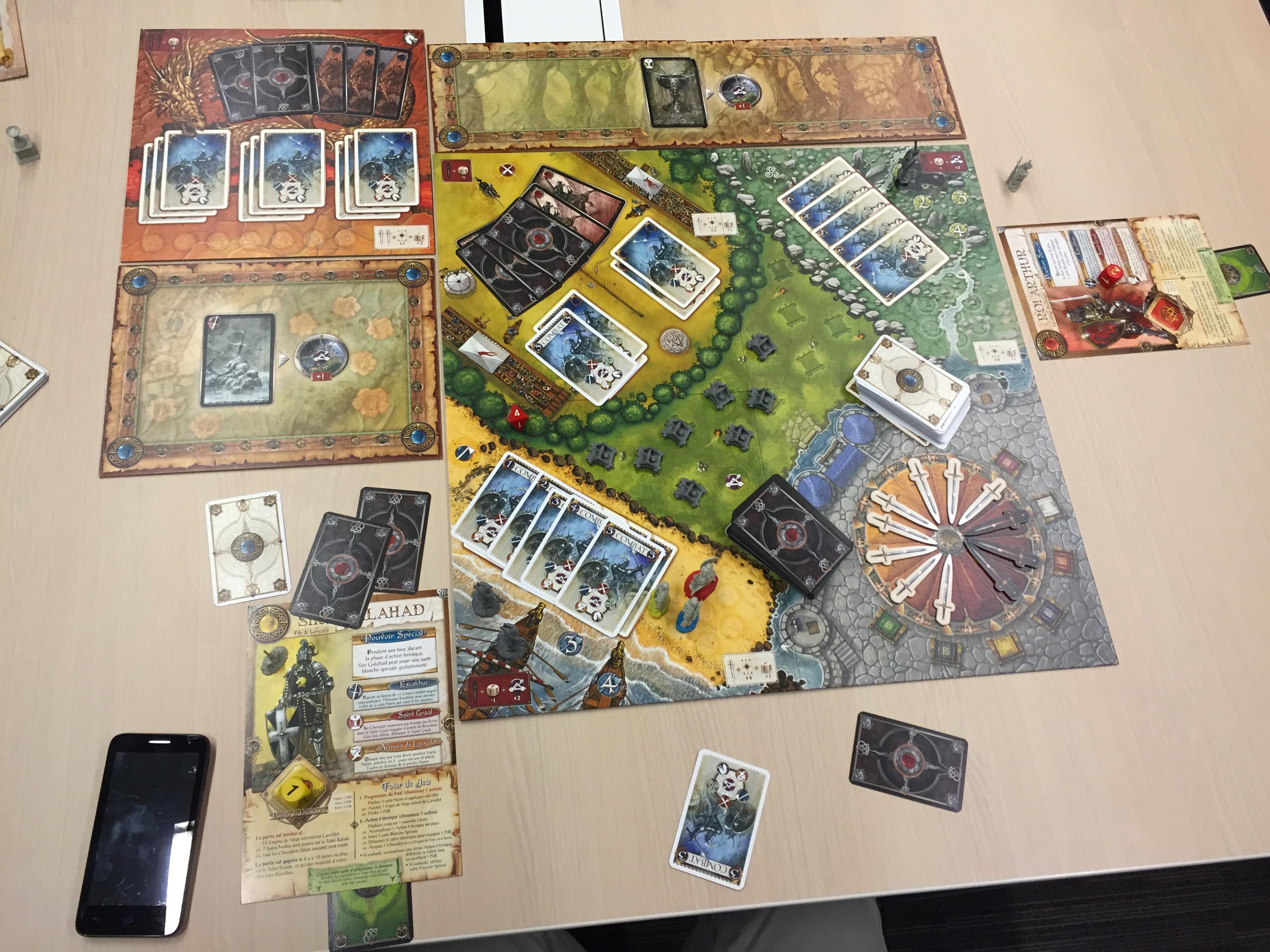 Les chevaliers de la table ronde vin d 39 jeu - Nom des chevaliers de la table ronde ...