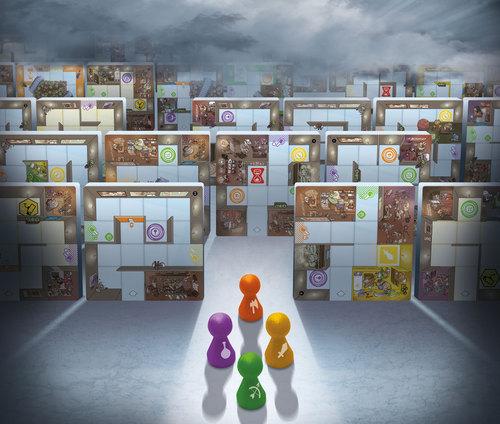 1558 Magic Maze