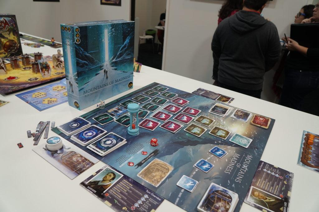 Les Montagnes Hallucinées, un jeu coopératif qui sait mettre l'ambiance. On vous en parle bientôt.