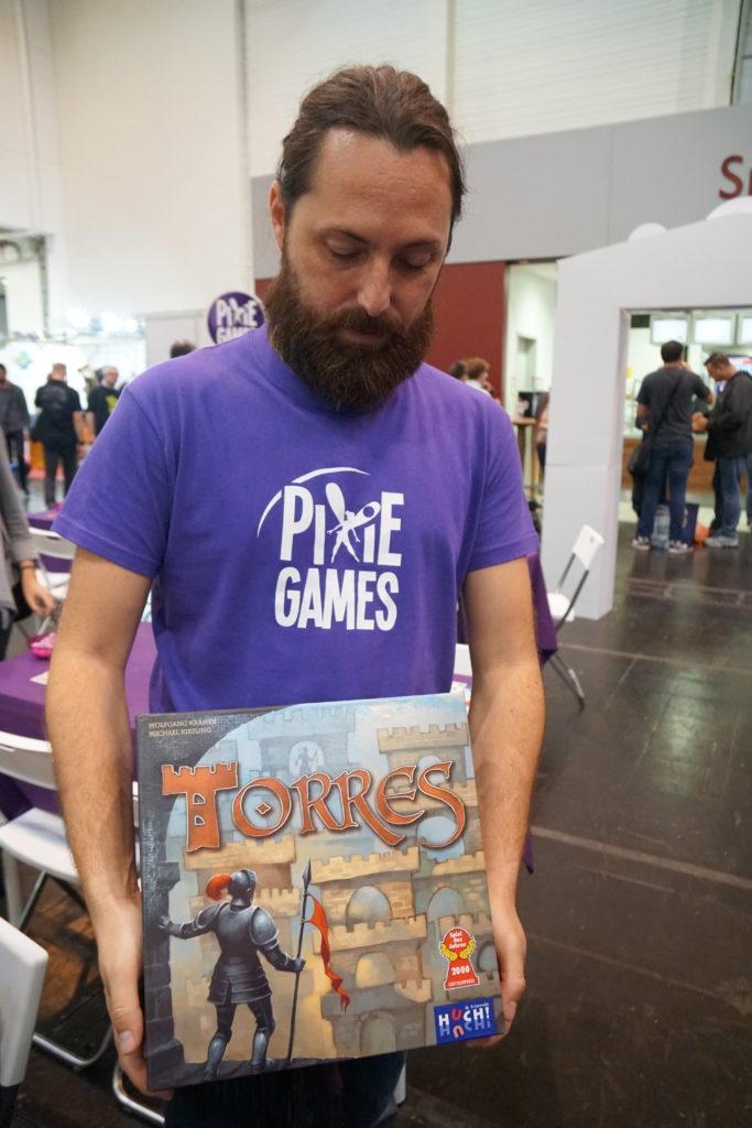 L'indémodable Torres est réédité en Français par Pixie Games.