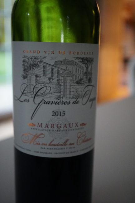 Le Margaux est parmi mes vins préférés... Bien que celui-ci soit en dessous de la moyenne