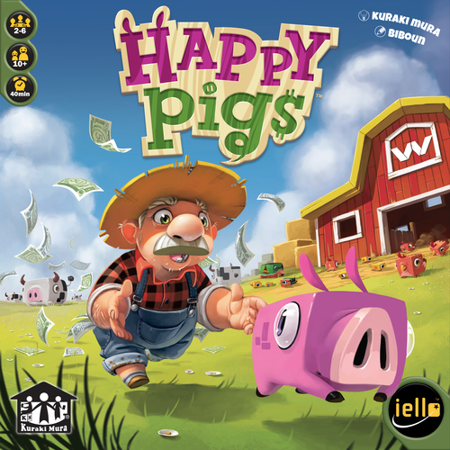 1255 Happy Pig 1