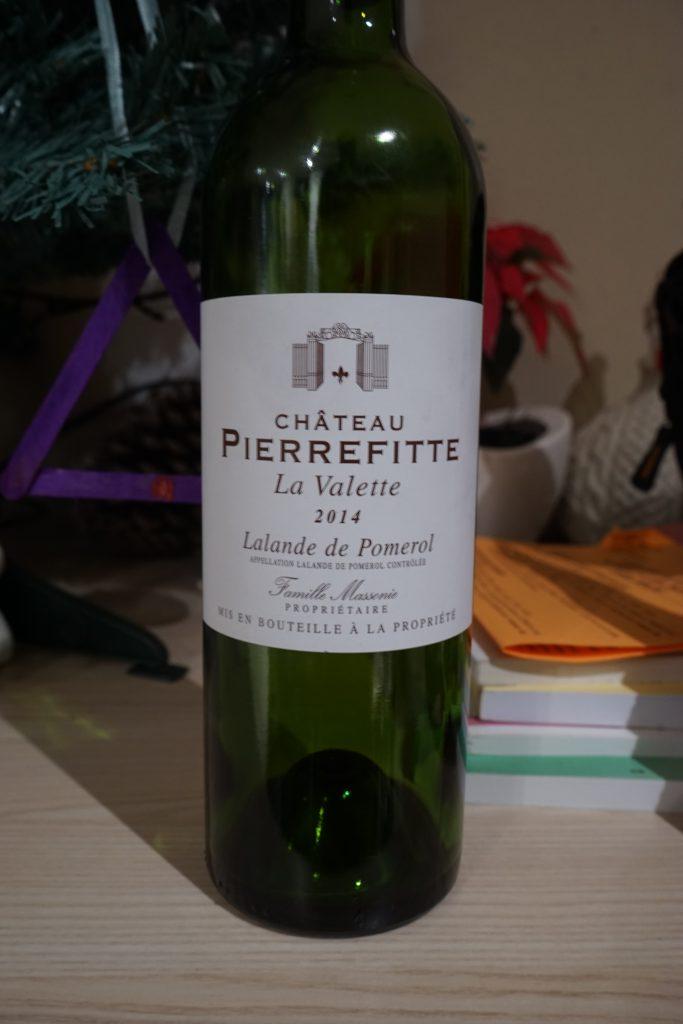 J'adore les Lalande de Pomerol mais ce château Pierrefitte est un peu en dessous de la moyenne