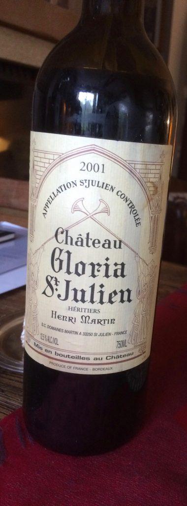 Parce-que de temps en temps il faut sortir une bonne vieille bouteille ;)