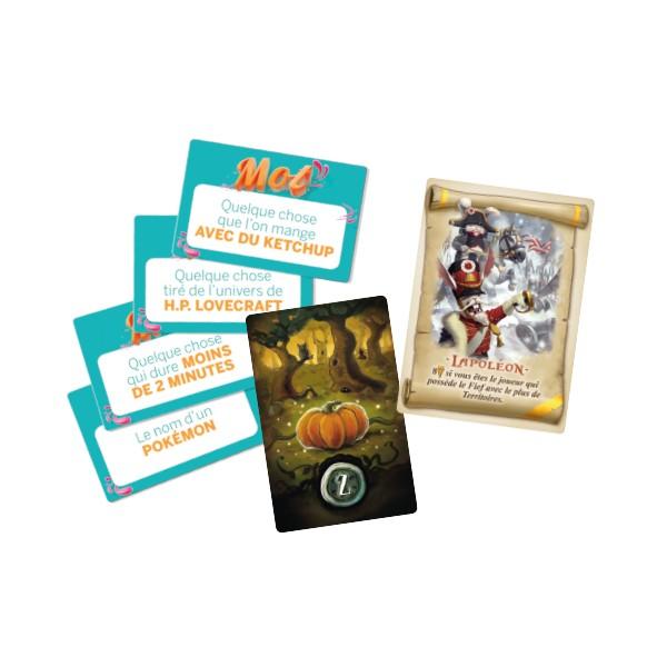 Ce numéro est accompagné non pas d'un, ni de deux mais bien de trois cadeaux pour l'excellent Blackwood, Mot pour Mot et Bunny Kingdom