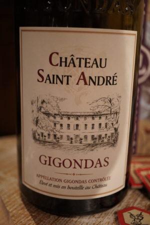 Le Gigondas est un vin frais et étonnant qui se marie parfaitement à Rising Sun