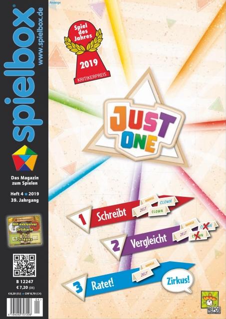 Spielbox 4: le programme