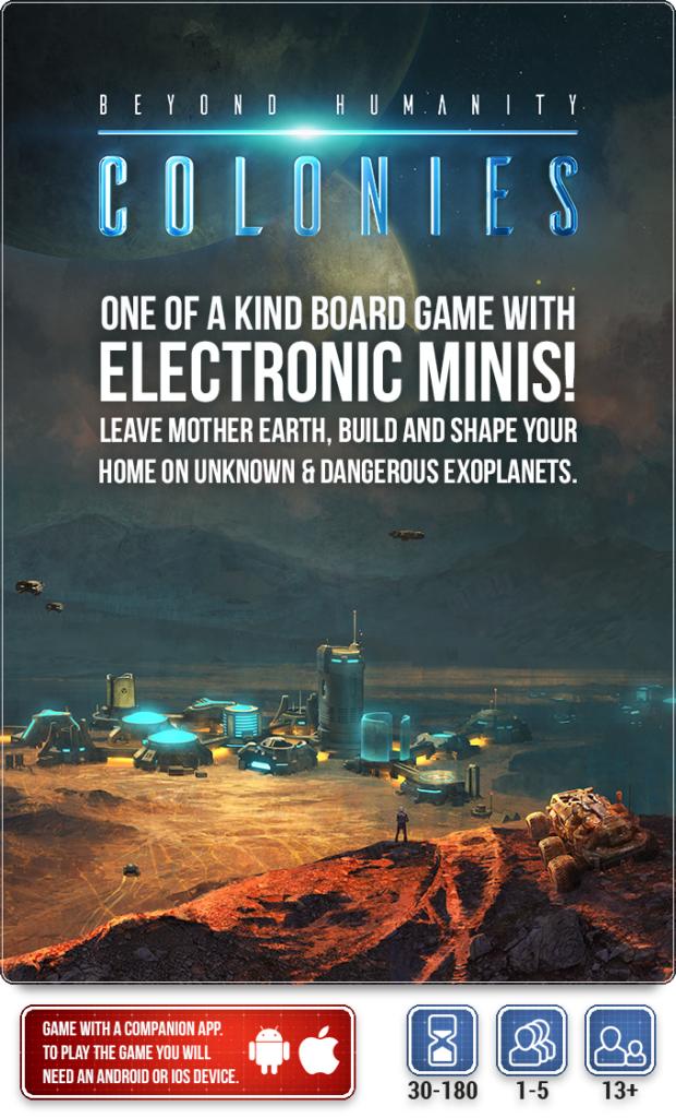 Beyond Humanity: Colonies dernières 30 heures sur Kickstarter!