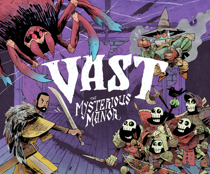 Vast: The Mysterious Manor + Haunted Hallways