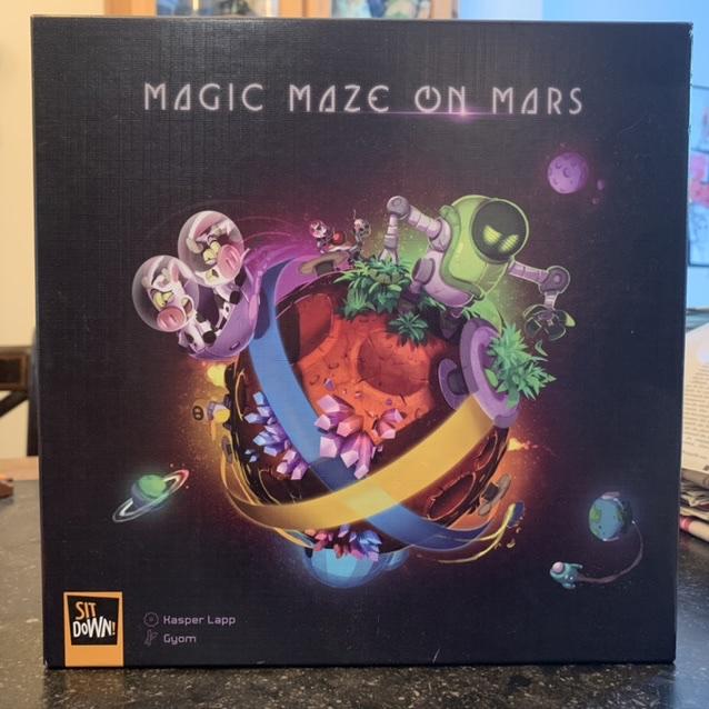 Magic Maze On Mars: Vin d'jeu d'vidéo